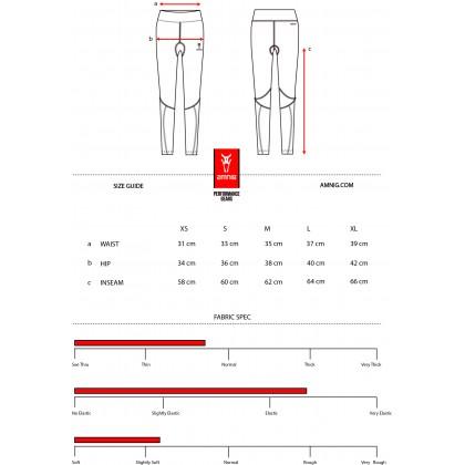 Amnig Women Maxforce Victory Compression Long Pants