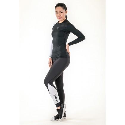 Amnig Women Brisk Compression Long Pants