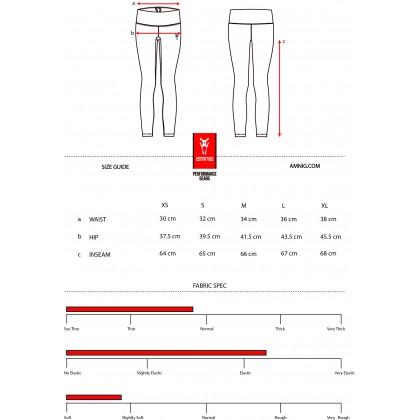 Amnig Women Active High Waist Legging