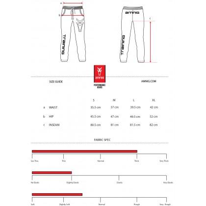 Amnig Men Sport Training Sweatpants